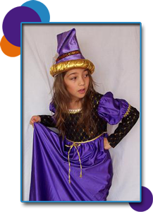 Kidworks Workshops include costumes!